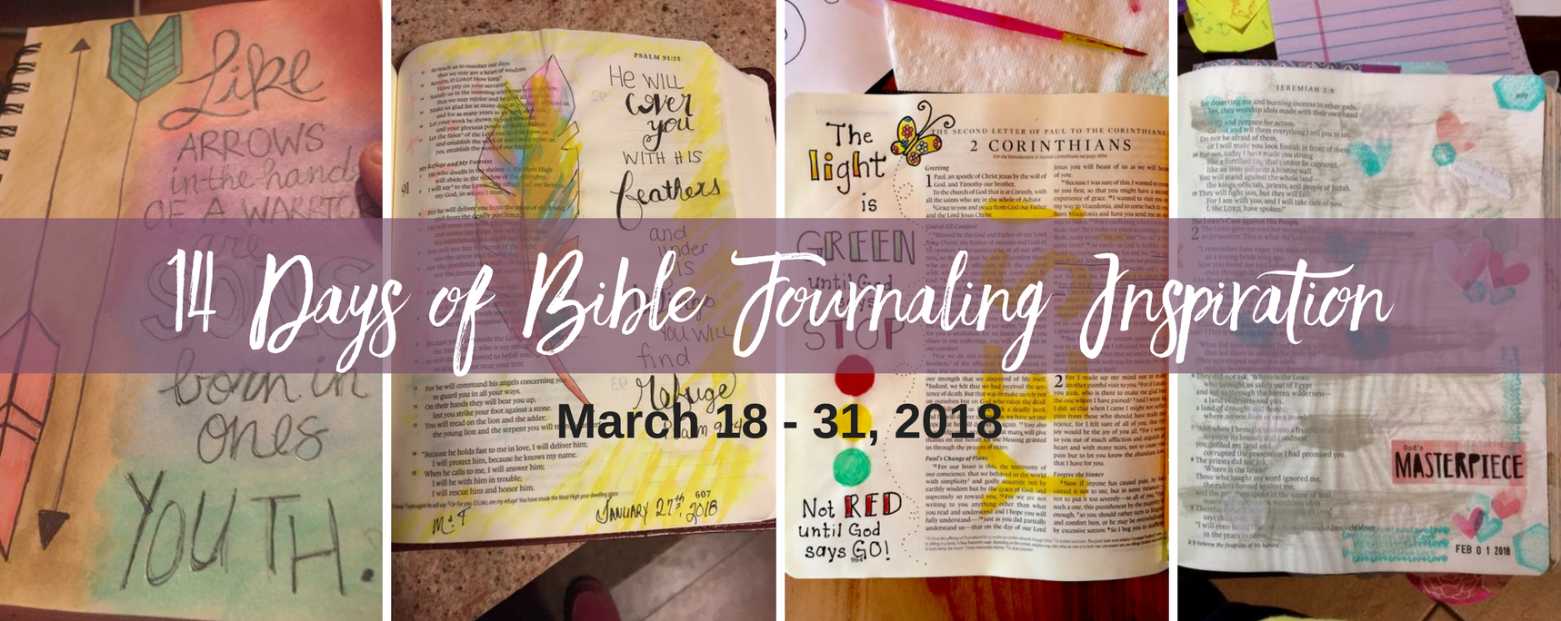 14 Days of Bible Journaling – Slider