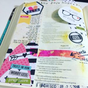 Bible Journaling: Ana Willis