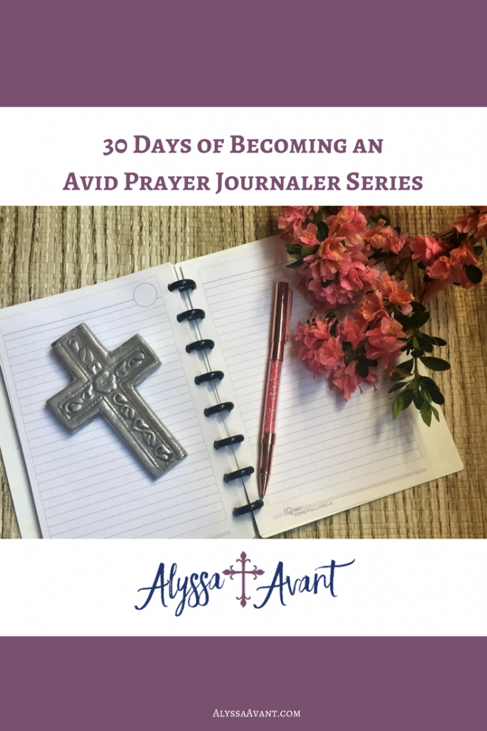 prayer journaler series