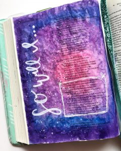 learn new Bible journaling technique