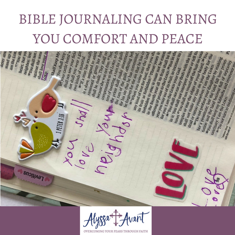Bible Journaling Can Bring You Comfort and Peace
