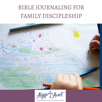 Bible Journaling For Family Discipleship