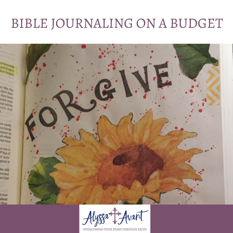 Bible Journaling on a Budget