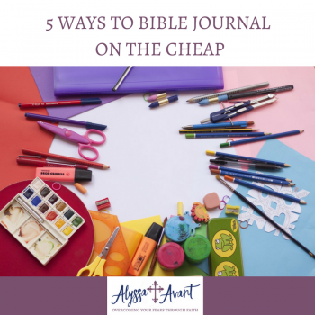5 Ways to Bible Journal on the Cheap