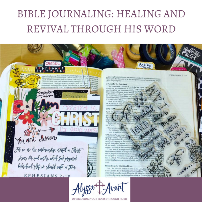 Bible Journaling: Healing and Revival Through His Word