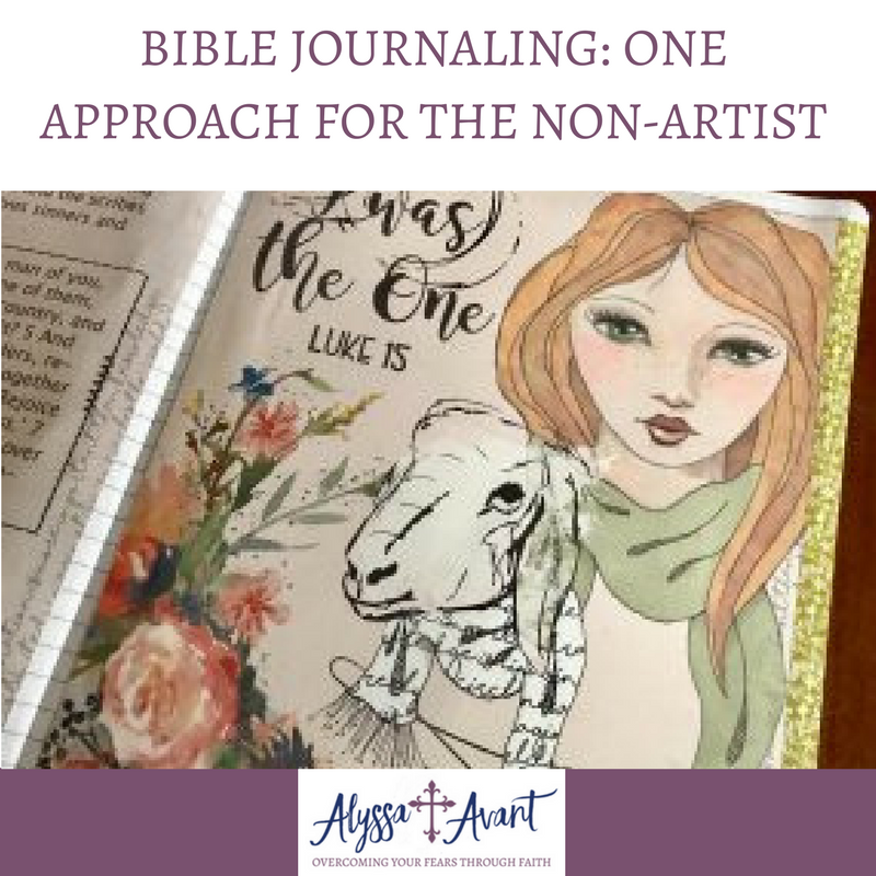 Bible Journaling: One Approach for the Non-Artist