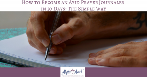 prayer journaler
