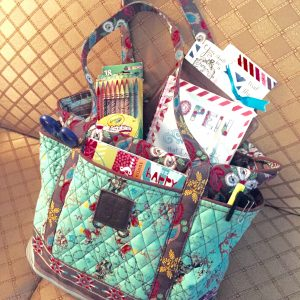 Bible journaling tote