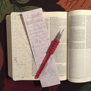a good marriage Bible journaling by JoDitt