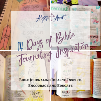 14 Days of Bible Journaling Inspiration