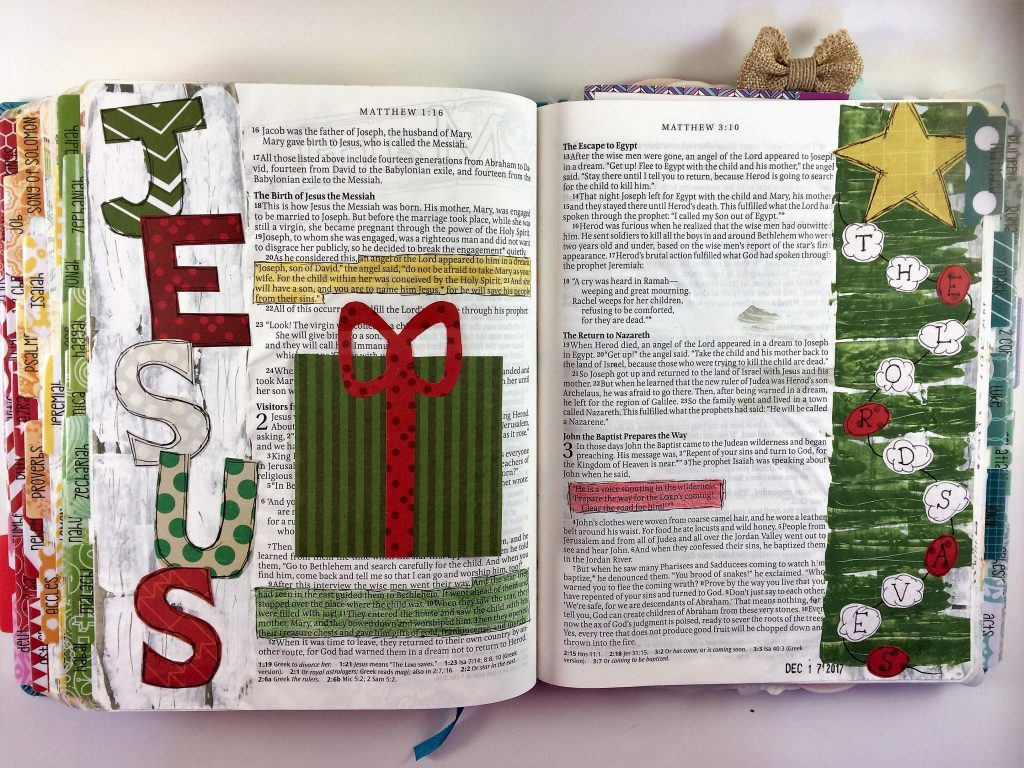 Bible Journaling Using Journaling Cards: Privacy