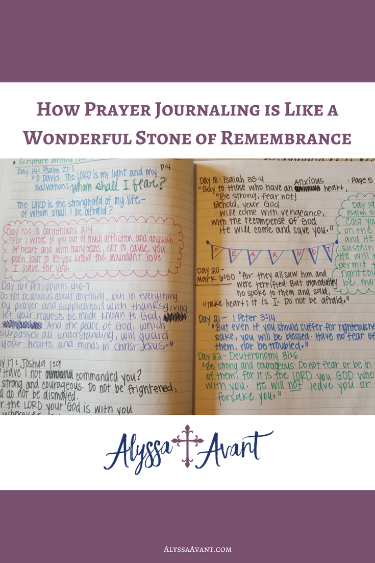 how prayer journaling is