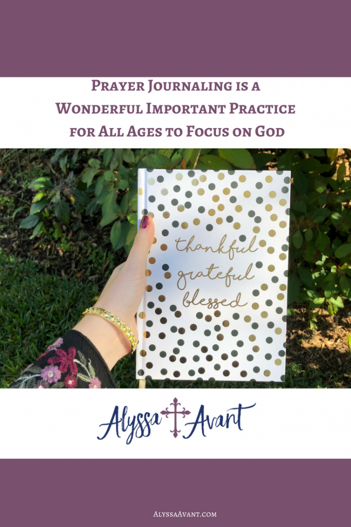 prayer journaling important practice for all ages
