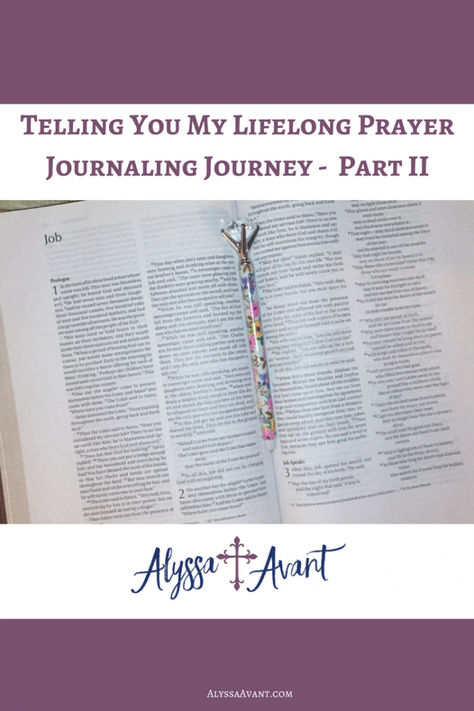 lifelon prayer journaling