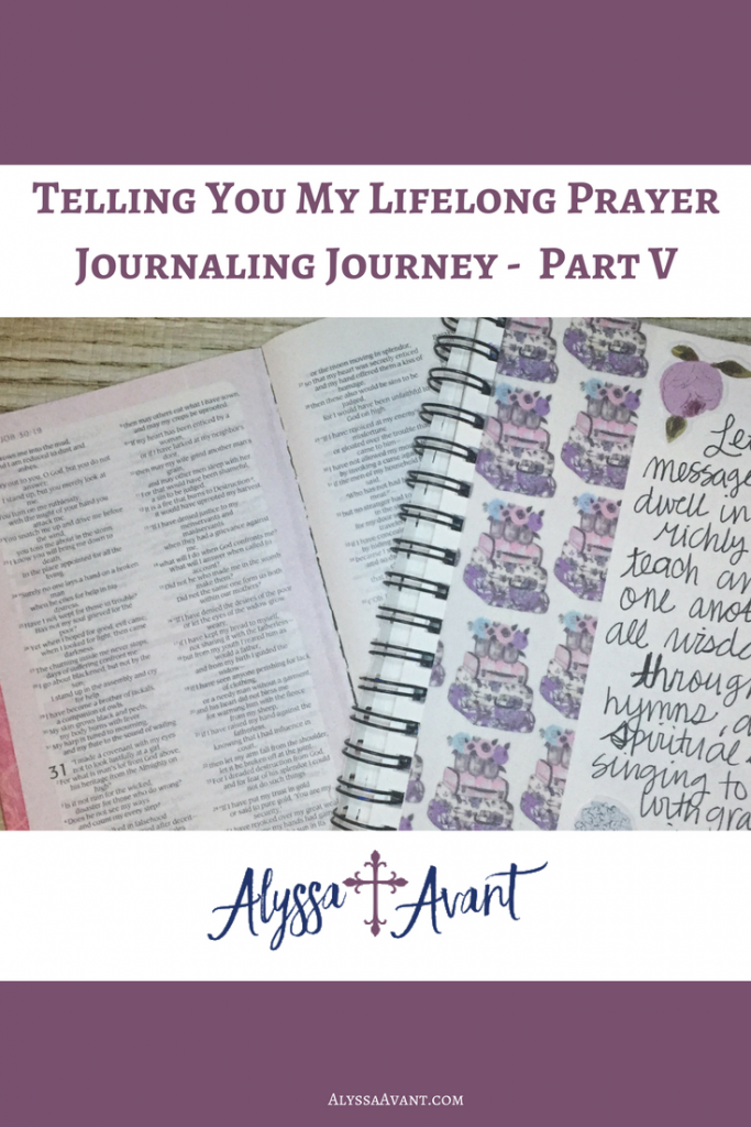 prayer journaling prompt
