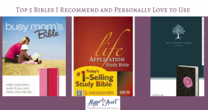 Bibles I recommend
