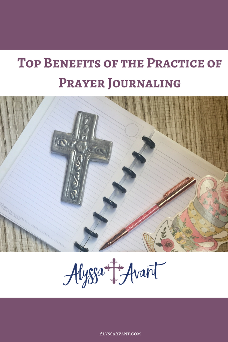 benefits of prayer journaling