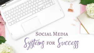Social Media Systems for Success