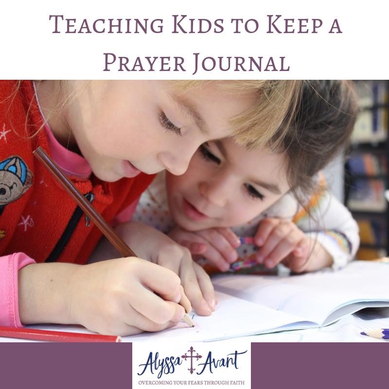 Teaching Kids to Keep a Prayer Journal