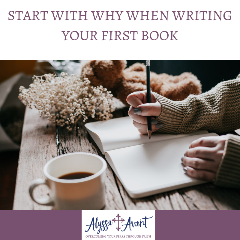 Start with Why When Writing Your First Book