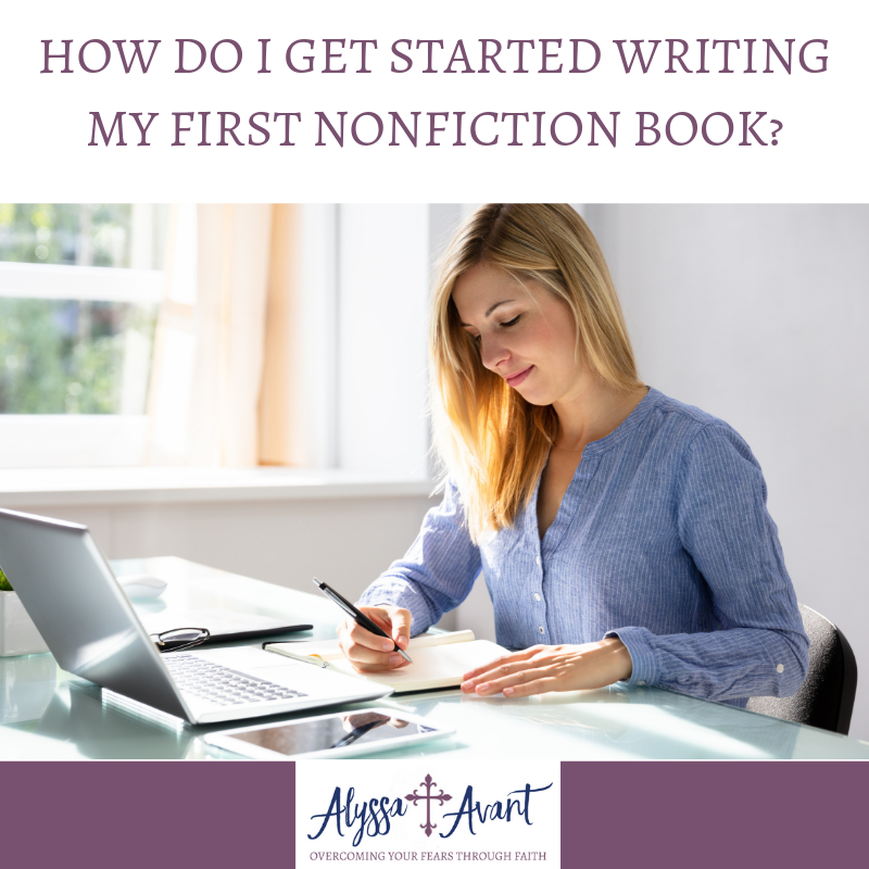 how do I get started writing my first nonfiction book square